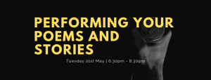 Performing your poems and stories