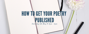 How to get your poetry published