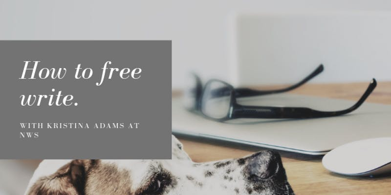 How to free write course